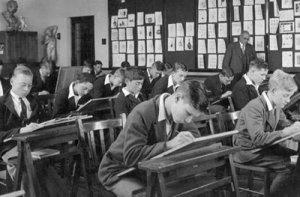1950 classroom